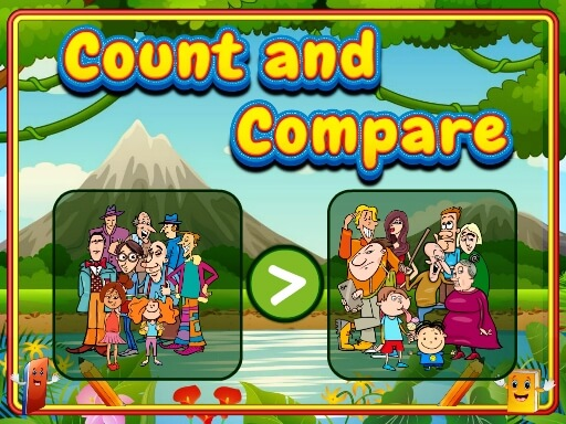 لعبة Count and Compare