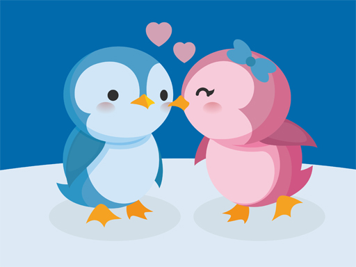 لعبة Cute Penguin Puzzle