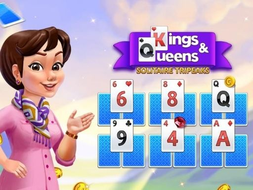 لعبة Kings and Queens Solitaire Tripeaks