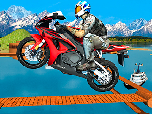 لعبة Motocross Beach Jumping 3D