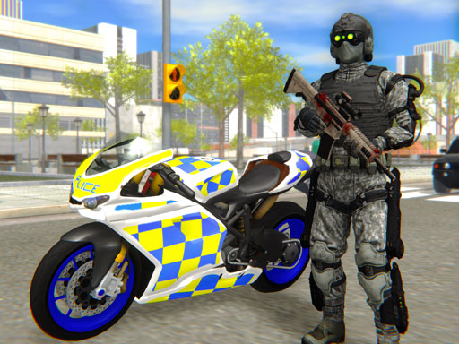 لعبة Police Bike City Simulator