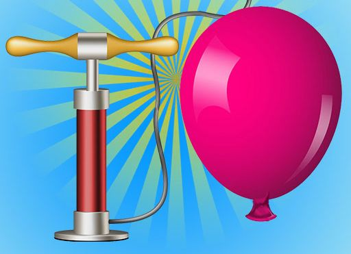 لعبة Pump Air and Blast The Balloon