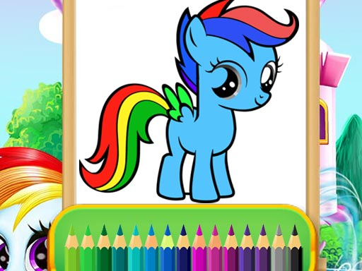 لعبة Wonder Pony Coloring