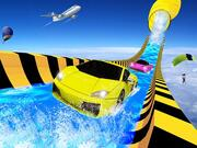 Water Slide Car Racing Adventure 2020