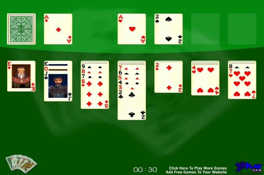 2D Solitaire Game