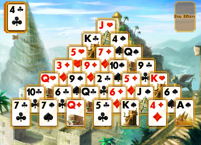 Ancient Wonders Solitaire Game