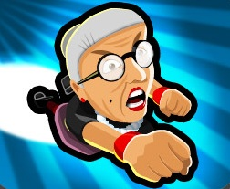 Angry Gran Toss Game