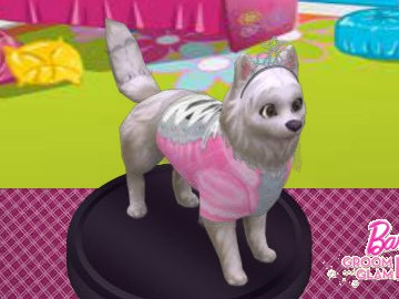 Barbie Groom And Glam Pups Game