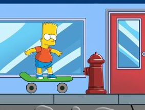 Bart Boarding Game