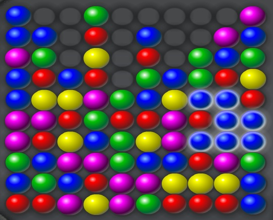 Color Breaker Game Bubble Breaker Game