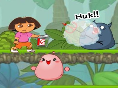 Dora Kill The Monsters Game