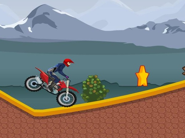 Downhill Stunts Game