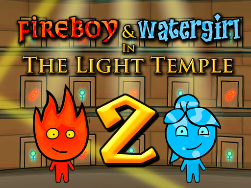 Fireboy and Watergirl 2 - The Light Temple Game