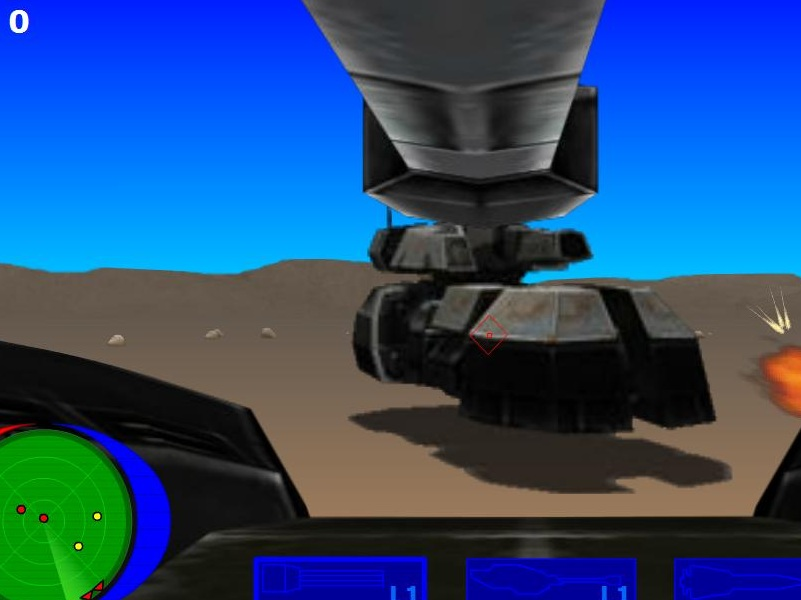 Hover Tanks Game
