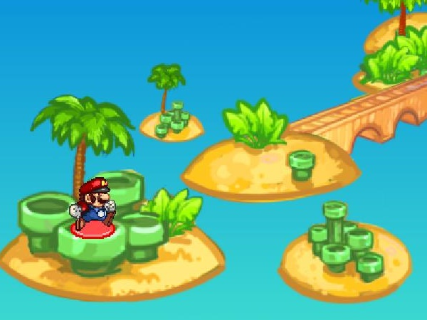 Mario Beach Remix Game