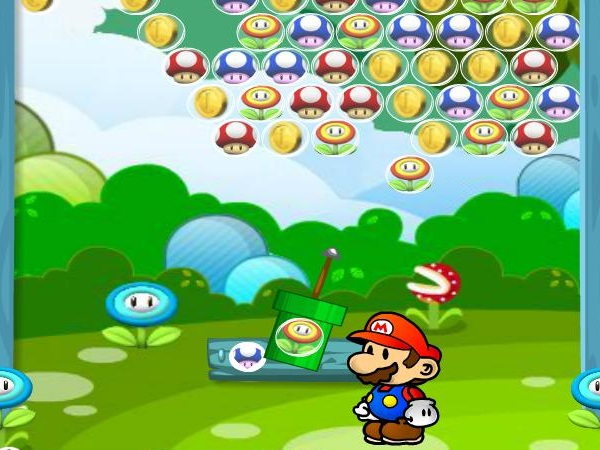 Mario Fruit Bubbles 2 Game