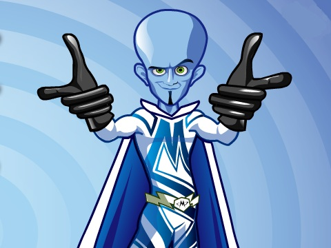 Megamind Dress Up Game