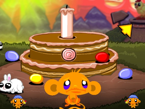 Monkey Go Happy - Easter Game