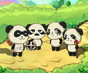 Panda Shock Troop Game