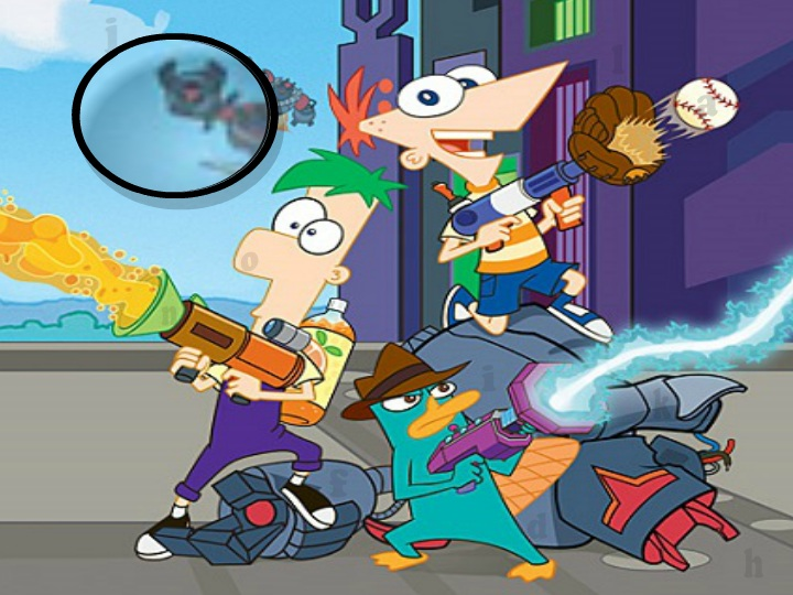 Phineas and Ferb - Hidden Letters Game