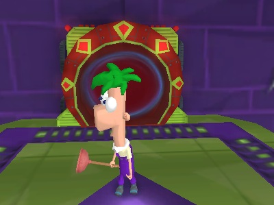 Phineas and Ferb - Transportinators of Doom Game