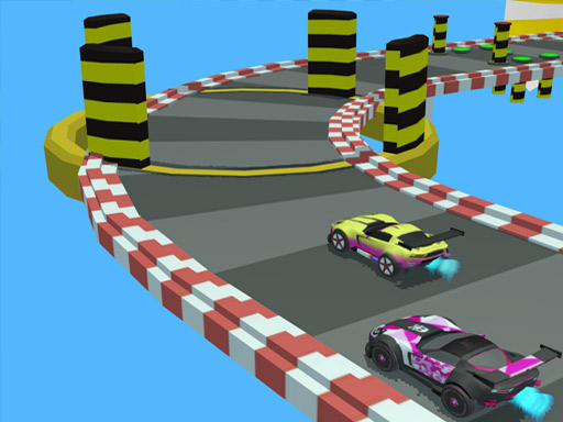 Race Car Steeplechase Master Game