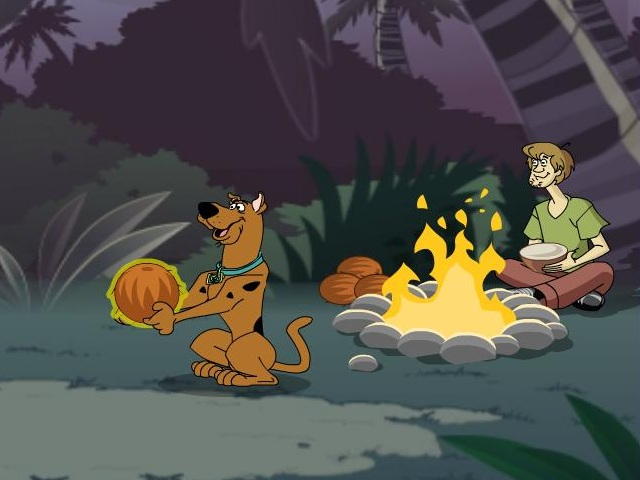Scooby Doo - Survive The Island Game