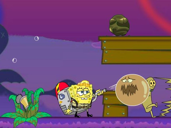 SpongeBob and Patrick - Dirty Bubble Busters Game