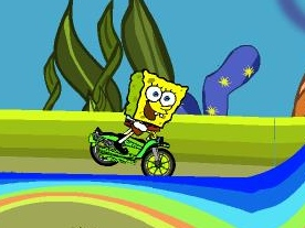 Spongebob Rainbow Rider Game