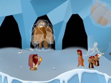 Stone Age Sam 2 The Ice Age Game