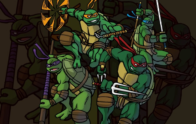 TMNT Double Damage Game