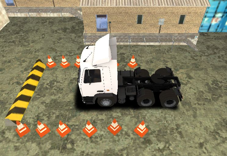 Truck Parking HD Game