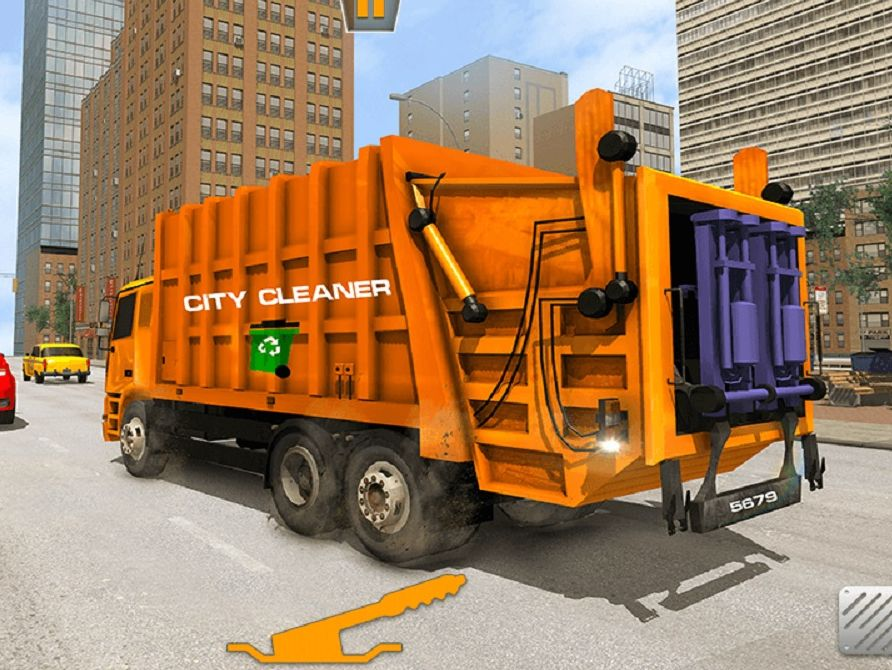 US City Garbage Cleaner - Trash Truck 2020 Game