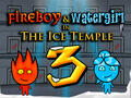 Jouer au jeu de Fireboy and Watergirl 3 - The Ice Temple