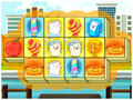 Play Foody Triple Mahjong Game