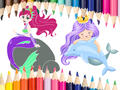 Play Mermaid Coloring Book Game