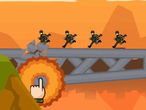 Jeu de Bomb The Bridge