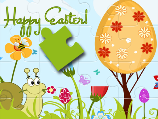 Jeu de Happy Easter Puzzle