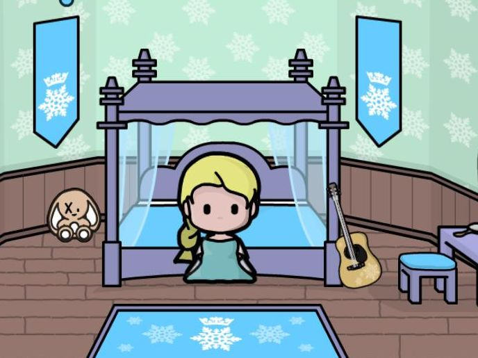 Jeu de Ice Princess Doll House