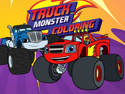 Jeu de Monster Truck Coloring 2