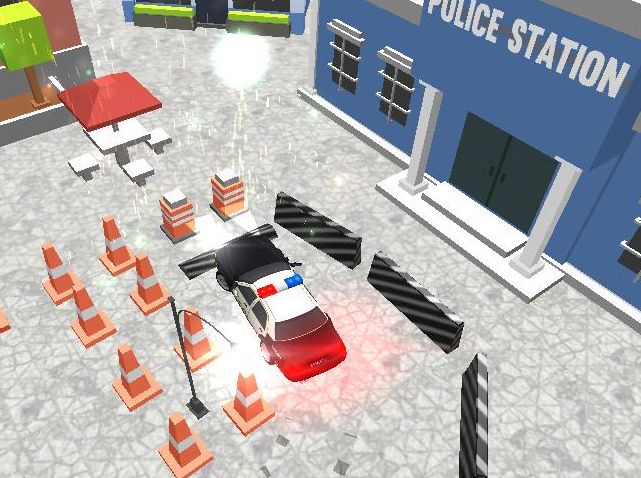 Jeu de Police Cars Parking