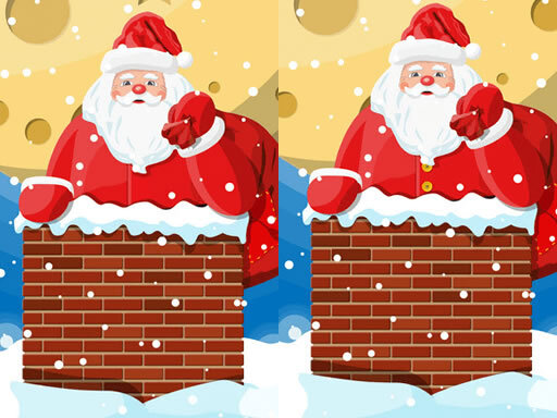 Jeu de Santa Claus Differences