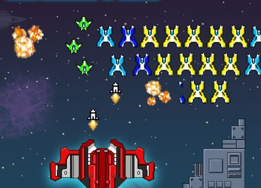 Jeu de Space Shooter