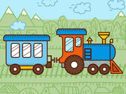 Train Coloring For Kids