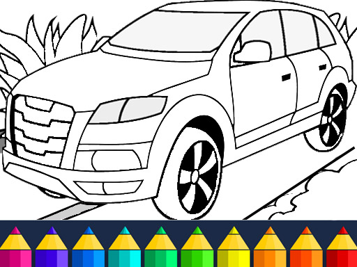Игра Cars Coloring Game
