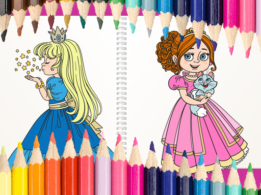Beautiful Princess Coloring Book spiel