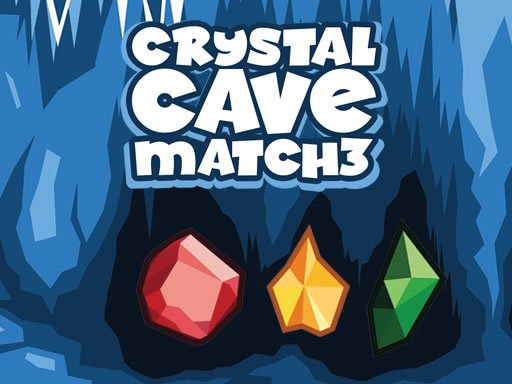 Crystal Cave Match 3 spiel