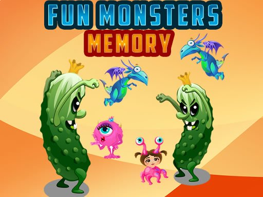 Fun Monsters Memory spiel