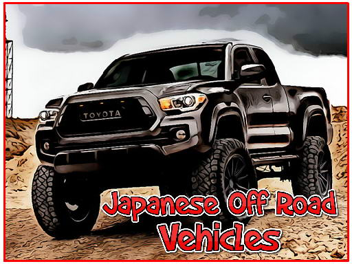 Japanese Off Road Vehicles spiel