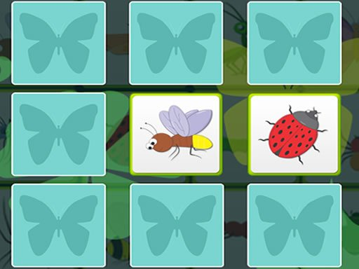 Kids Memory - Insects spiel